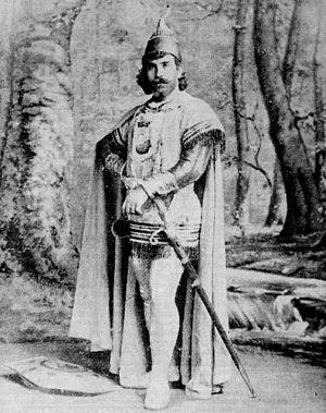 Joseph O'Mara - O'Mara as the title character in Wagner's Lohengrin, 1894-5
