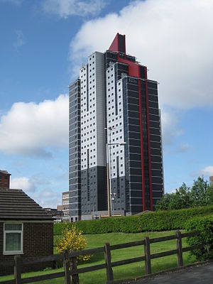 Opal Property Group - Opal 3 in Leeds, one of the company's student accommodation buildings