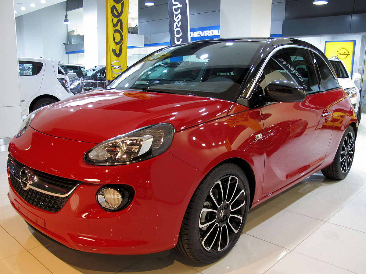 opel adam wikipedia la enciclopedia libre. Black Bedroom Furniture Sets. Home Design Ideas