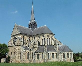 Jean d'Orbais - Abbey church Orbais-l'Abbaye.