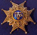 Order of the Seraphim star (Sweden) - Tallinn Museum of Orders.jpg
