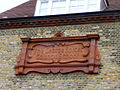 Original terracotta sign, George Spicer School, Enfield - geograph.org.uk - 1222992.jpg