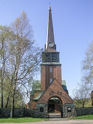 Oskarström - Oskarström's Church