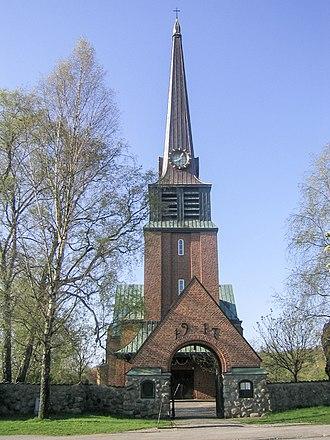 Oskarström - Oskarström's Church