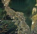 Otsu city center area Aerial photograph.1987.jpg