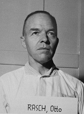 Otto Rasch at the Nuremberg Trials