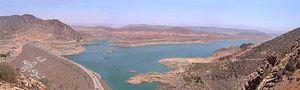 Massa River (Morocco) - Yusuf Ibn Tashfin Dam