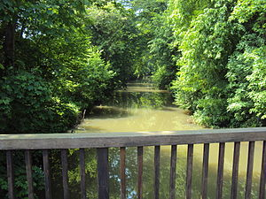 Ourcq - Ourcq river in Lizy-sur-Ourcq