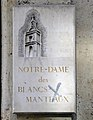 P1280126 Paris IV eglise ND des Blancs-Manteaux plaque rwk1.jpg