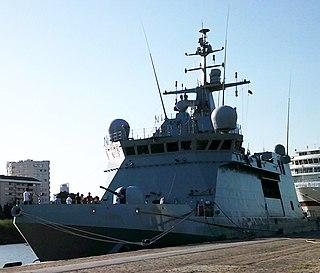 Spanish patrol vessel <i>Audaz</i> (P-45)