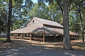 Pleasant Grove Camp Meeting Ground - Pleasant Grove Camp Meeting Ground, March 2007