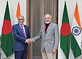 PM Modi and Bangladeshi President Md. Abdul Hamid.jpg