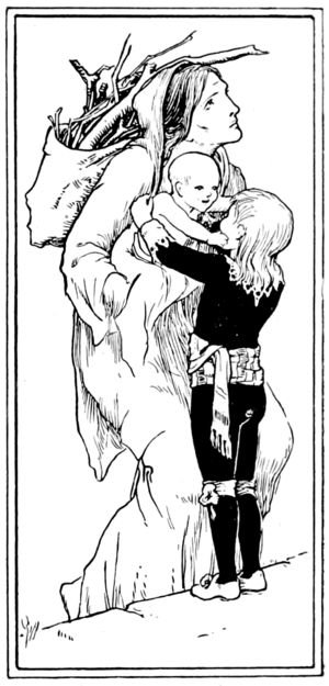 Catskin - illustration by John D. Batten