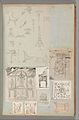 Page from a Scrapbook containing Drawings and Several Prints of Architecture, Interiors, Furniture and Other Objects MET DP372129.jpg