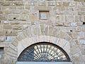 Palazzo castellani, fi, arco e stemma arte.JPG