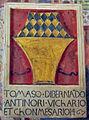 Palazzo comunale di s. miniato, sala delle sette virtù, stemma antinori 2.jpg