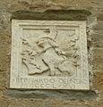Palazzo dei priori di volterra, stemma del nero 1476.JPG