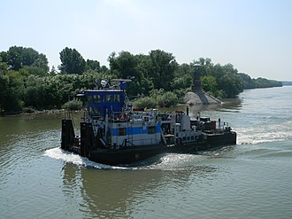 Timiș River - The Timiș (Tamiš) river near Pančevo