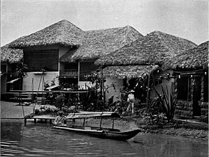 History of Filipino Americans - Philippine Village at the Pan-American Exposition in 1901