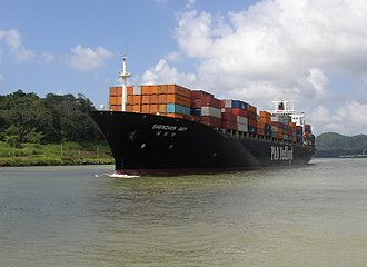 Panamax - Panamax container ship