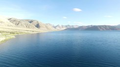 Податотека:Pangong Tso and Tso Moriri Lake Drone Video.webm
