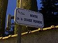 Panneau de la Montée de la Grande Perrière (Miribel).jpg