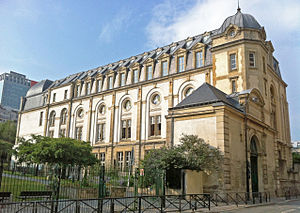 Panthéon-Assas University - Campus on rue de Vaugirard.