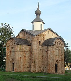 Paraskeva-Piatnitsa Church on Yaroslav's Court (Veliky Novgorod).jpg