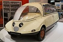 Paris - Retromobile 2014 - Citroën prototype C10 - 1956 - 004.jpg