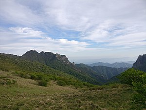Qinling - Image: Part of Qinling mountains