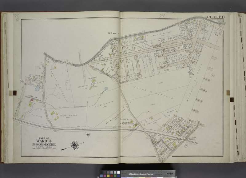File:Part of Ward 4. (Map bound by Richmond Road, Baltic Ave, Hanover Ave (Main), Neckar Ave, Weser Ave, Elbe Ave, Mosel Ave, Clove Ave, Fingerboard Road, Staten Island Rail Road, Cornelia St, NYPL1646278.tiff
