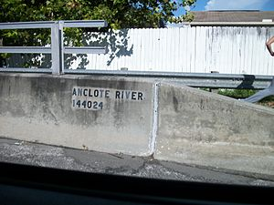 Anclote River - Image: Pasco CR 77 Bridge over Anclote River (FDOT Number)