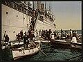 Passengers disembarking, Algiers, Algeria-LCCN2001697829.jpg