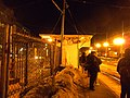 Passengers waiting at Lechmere station, February 2011.jpg