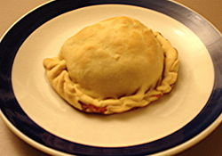 A pasty from the Upper Peninsula of Michigan