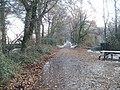 Path on the east bank of the River Taff near Radyr weir - geograph.org.uk - 2191388.jpg