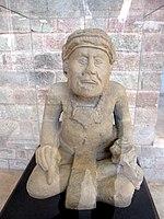 Pauah Tun scribe figure, Copán, Honduras.jpg