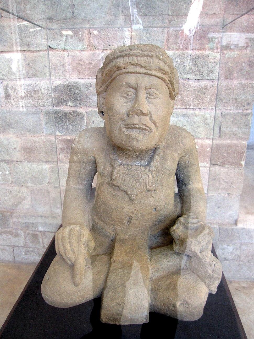 Pauah Tun scribe figure, Copán, Honduras