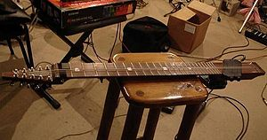 Chapman Stick - Brazilian Pau Ferro (ironwood) Stick manufactured in the 1980s