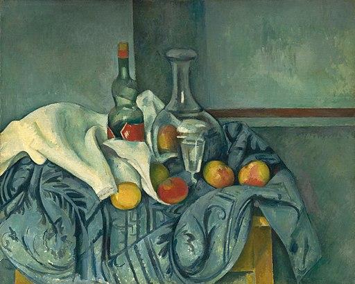 Paul Cézanne - La bouteille de menthe poivrée (National Gallery of Art)