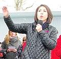 Paulette Jordan at immigration rally (cropped).jpg