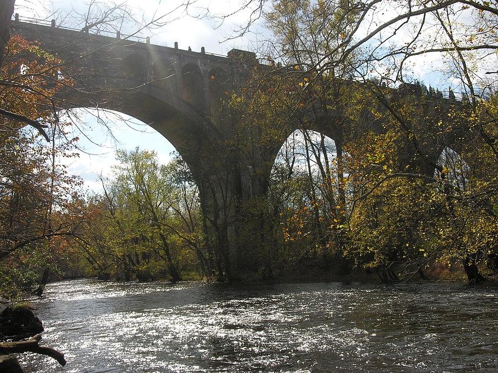 Paulins Kill Viaduct in Hainesburg, NJ