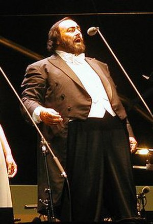 Bye Bye (Mariah Carey song) - Image: Pavarotticrop