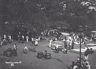 Payakumbuh - Payakumbuh market circa 1900.