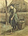 Peasant Girl Raking f0884 jh57.jpg