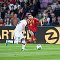 Pedro Rodriguez - Spain vs. Chile, 10th September 2013-2.jpg