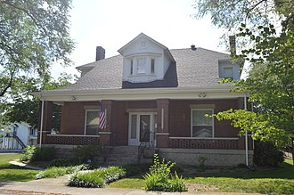 National Register of Historic Places listings in Allen County, Kentucky - Image: Pellie Graves House