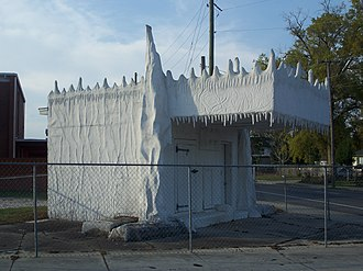 National Register of Historic Places listings in Escambia County, Florida - Image: Pensacola Crystal Ice bldg 04
