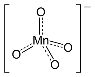 Permanganate anion
