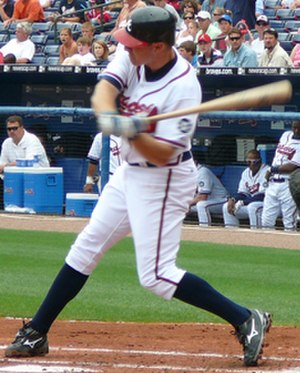 Pete Orr - Orr, with the Braves in June 2007
